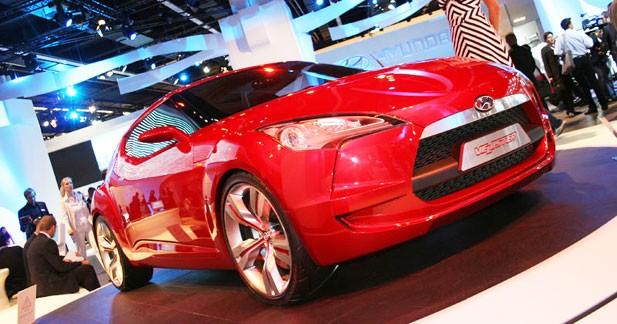 Concept Veloster : le coupé selon Hyundai