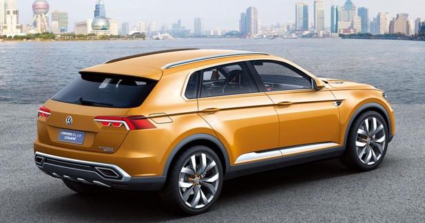 Volkswagen Cross Blue Coupé : Tiguan taille XXL