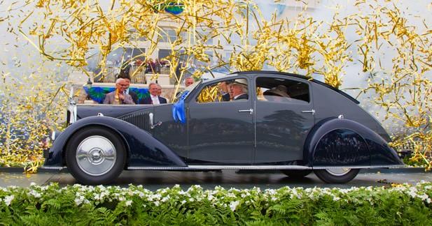 Concours d'Elégance de Pebble Beach 2011: La plus belle est française!