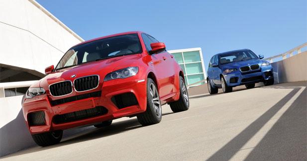 Les BMW X5M et X6M s'offrent un configurateur