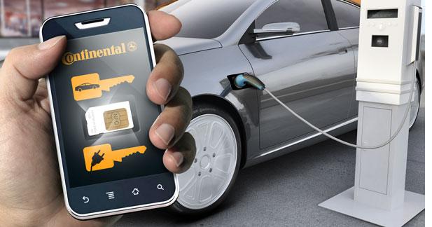 L'autopartage électrique géré par smartphone à Bordeaux