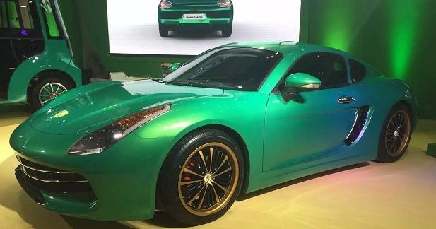 Une marque chinoise invente la Ferrari Cayman électrique