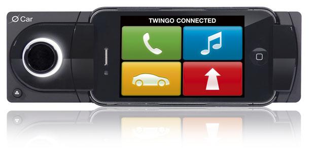 Une solution de guidage sur iPhone pour la nouvelle Twingo