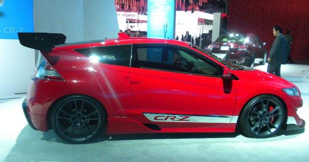 CRZ R concept : l'hybride Honda côté sport