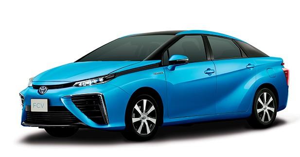 Toyota dévoile sa berline à pile à combustible de production