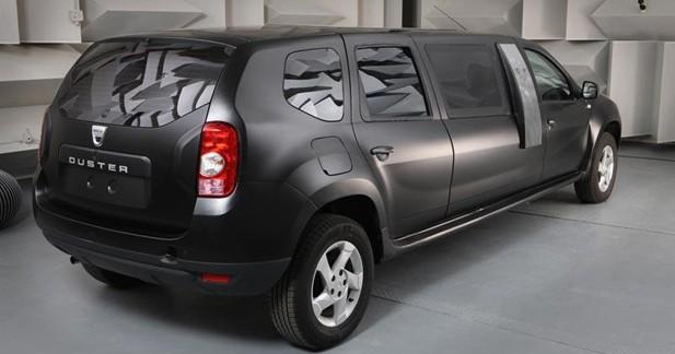 Insolite : un Duster limousine