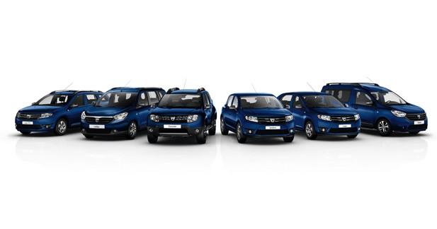 Dacia fête ses 10 ans: une série spéciale Anniversaire pour tous les modèles!