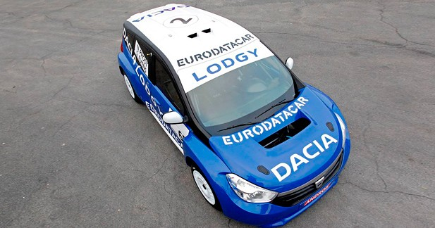 Dacia Lodgy ''Glace'' : Armoire à glace