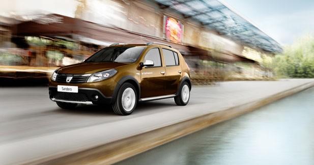 Dacia Sandero Stepway : une nouvelle version à Genève
