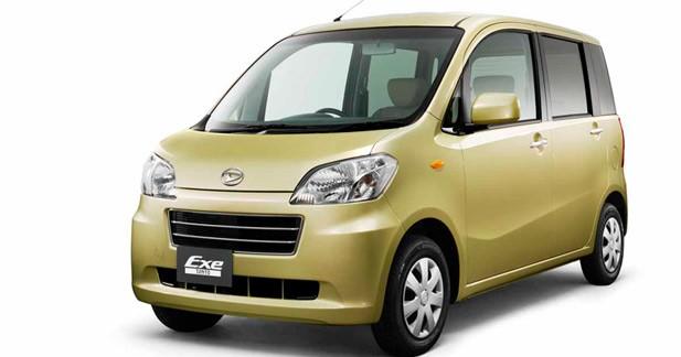 Daihatsu Tanto Exe et Exe Custom : variation sur un même thème