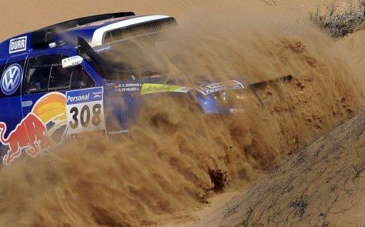 Dakar: Giniel de Villiers remporte la 10e étape