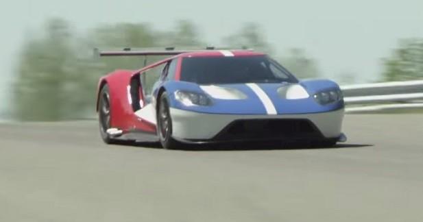 Ford GT LM: une séance d'essai top secret en vidéo