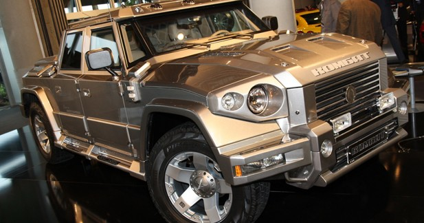 Dartz Kombat : un SUV monstre à louer cet été
