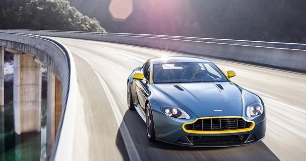 Aston Martin : du muscle et de la couleur à Genève