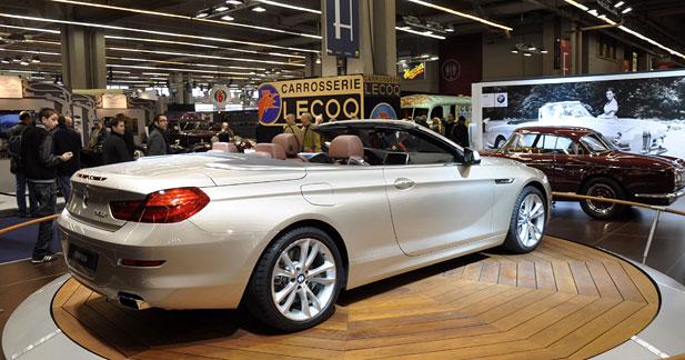 La nouvelle série 6 Cabriolet de BMW en première à Rétromobile