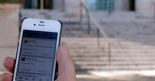 Interpellés pour avoir signalé des contrôles routiers sur Facebook