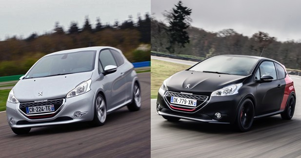 essai comparatif peugeot 208 gti vs 208 gti 30th laquelle choisir. Black Bedroom Furniture Sets. Home Design Ideas
