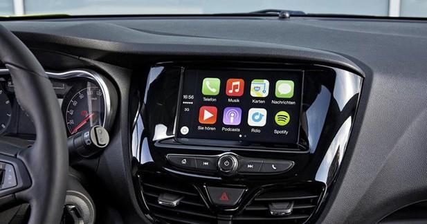 Opel va intégrer Apple et Android dans ses modèles d'ici 2016