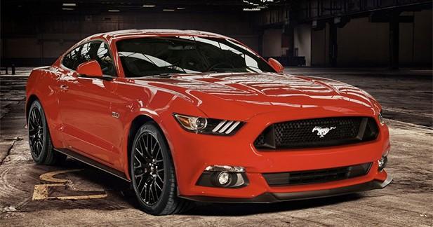 Nouvelle Ford Mustang : déjà plus de 500 000 configurations observées sur internet