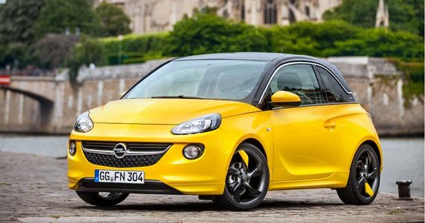 Opel Adam : plus de 20 000 commandes enregistrées
