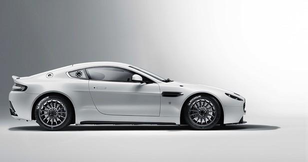 Une Aston Martin Vantage GT4 plus affûtée
