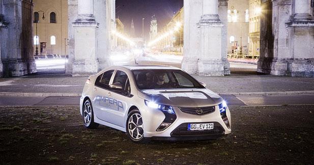 Opel prépare déjà l'Ampera de prochaine génération