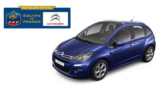 Série ''Passion Bleus'' pour les Citroën C3, C3 Picasso, C4, Nemo et Berlingo Multispace