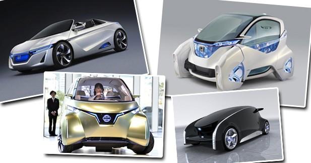 Les concept-cars excentriques du salon de Tokyo