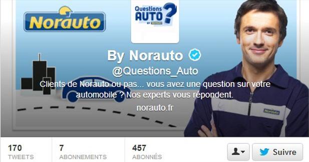 Norauto se lance dans l'entretien sur Twitter