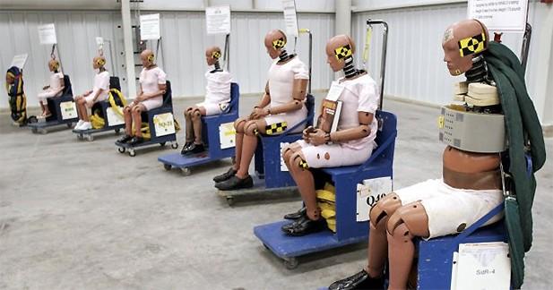 Des mannequins obèses pour les crash-tests américains ?