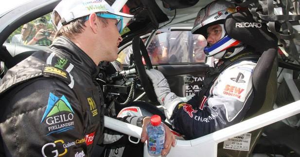 Rallycross – Lohéac : Petter Solberg fait mieux que Sébastien Loeb