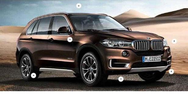 Fuite : le BMW X5 2013 en avance ?
