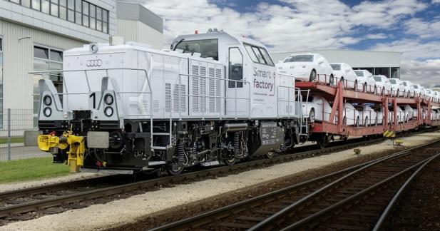 La nouvelle hybride rechargeable d'Audi est une... locomotive!