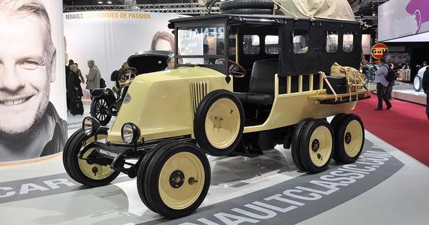 Renault présente ses modèles extraordinaires à Rétromobile