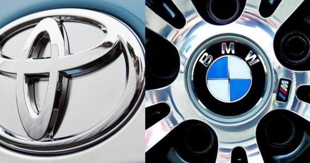 BMW et Toyota vont collaborer sur les technologies écologiques