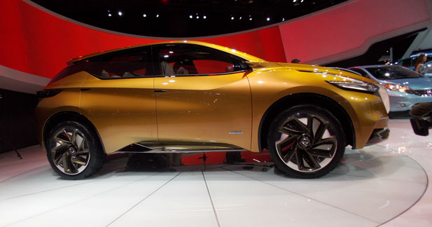 Le futur Nissan Murano se déclinera en version hybride