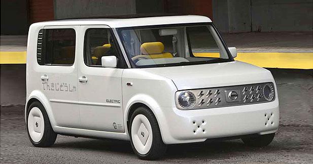 Nissan produira des voitures électriques en 2010