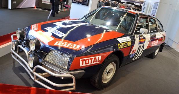 80 ans d'aventure et de compétition Citroën à Rétromobile
