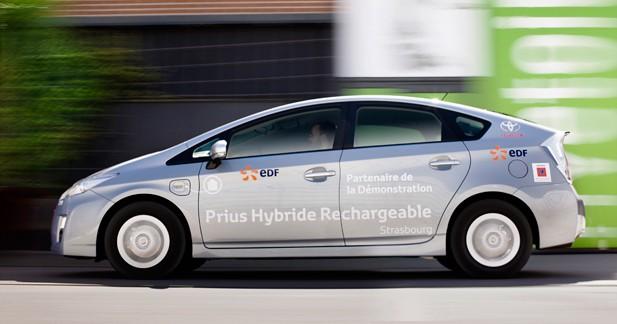 Strasbourg, ville test pour 100 Toyota Prius rechargeables
