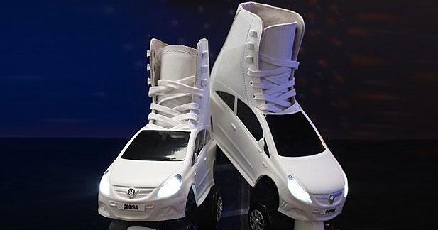 Insolite : quand Vauxhall chausse des patins à roulettes
