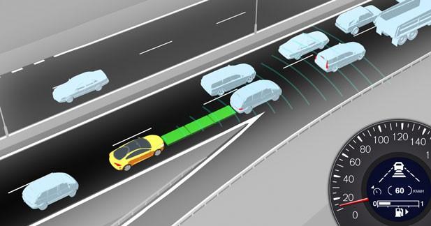 L'alerte de collision de Volvo réduit de 42 % le risque d'accident