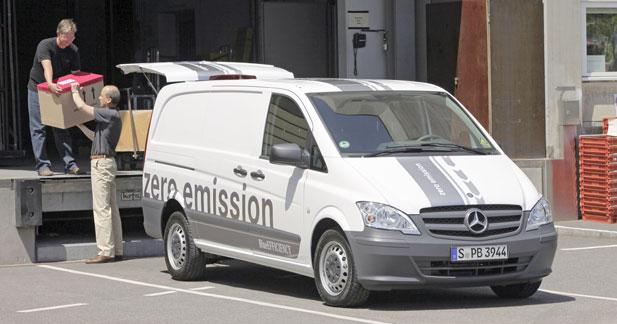 Europcar et Mercedes s'associent dans l'utilitaire électrique