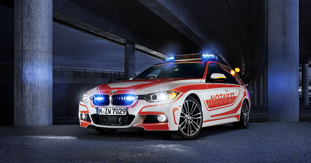 BMW va présenter son offre pour les véhicules d'urgence