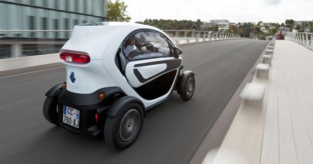 Renault commercialise des vitres pour le Twizy en accessoires