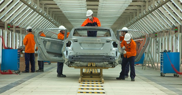 Volvo et son usine chinoise : ça avance