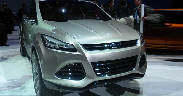 Detroit 2011, Ford Vertrek : le SUV compact du futur selon Ford