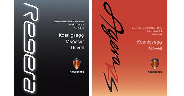 Koenigsegg : une nouvelle Agera et une « mégacar » à Genève