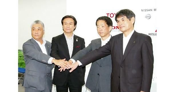 Les constructeurs japonais s'associent pour l'avenir de l'électrique