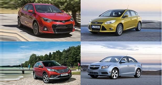 Diaporama: le Top 10 des voitures les plus vendues dans le monde en 2013