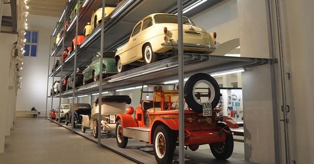 Diaporama musée Skoda : le musée rénové de Skoda en images